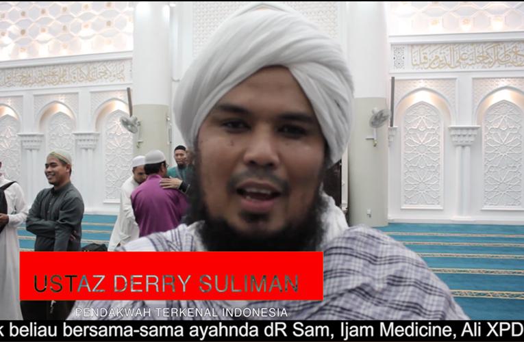 Derry bersemangat dan ceria bersama rakan hijrah di Kuala Lumpur