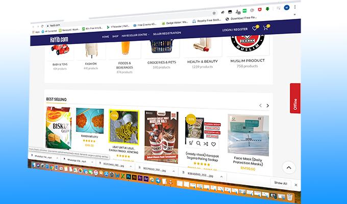 HAYIB.COM 'Muslim Friendly Marketplace'