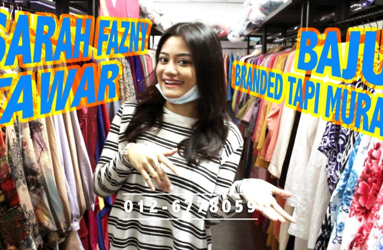 SARAH FAZNY ajak berjimat belanja raya di butiknya